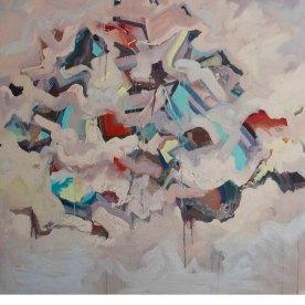 Be Still (II), 2014, Oil on Canvas 48″ x 48″