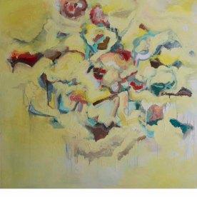 Be Still (III), 2014, Oil on Canvas 48″ x 48″