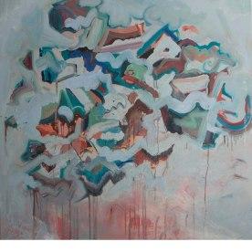 Be Still (IV), 2014, Oil on Canvas, 48×48