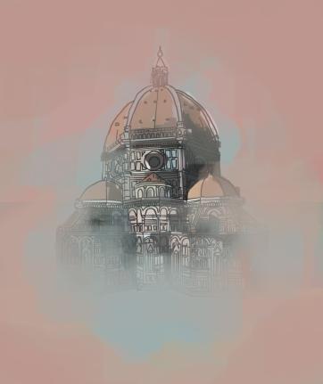 Florence Sacristry, Digital Drawing
