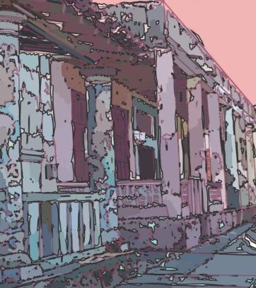 Cuba Street, Digital Drawing
