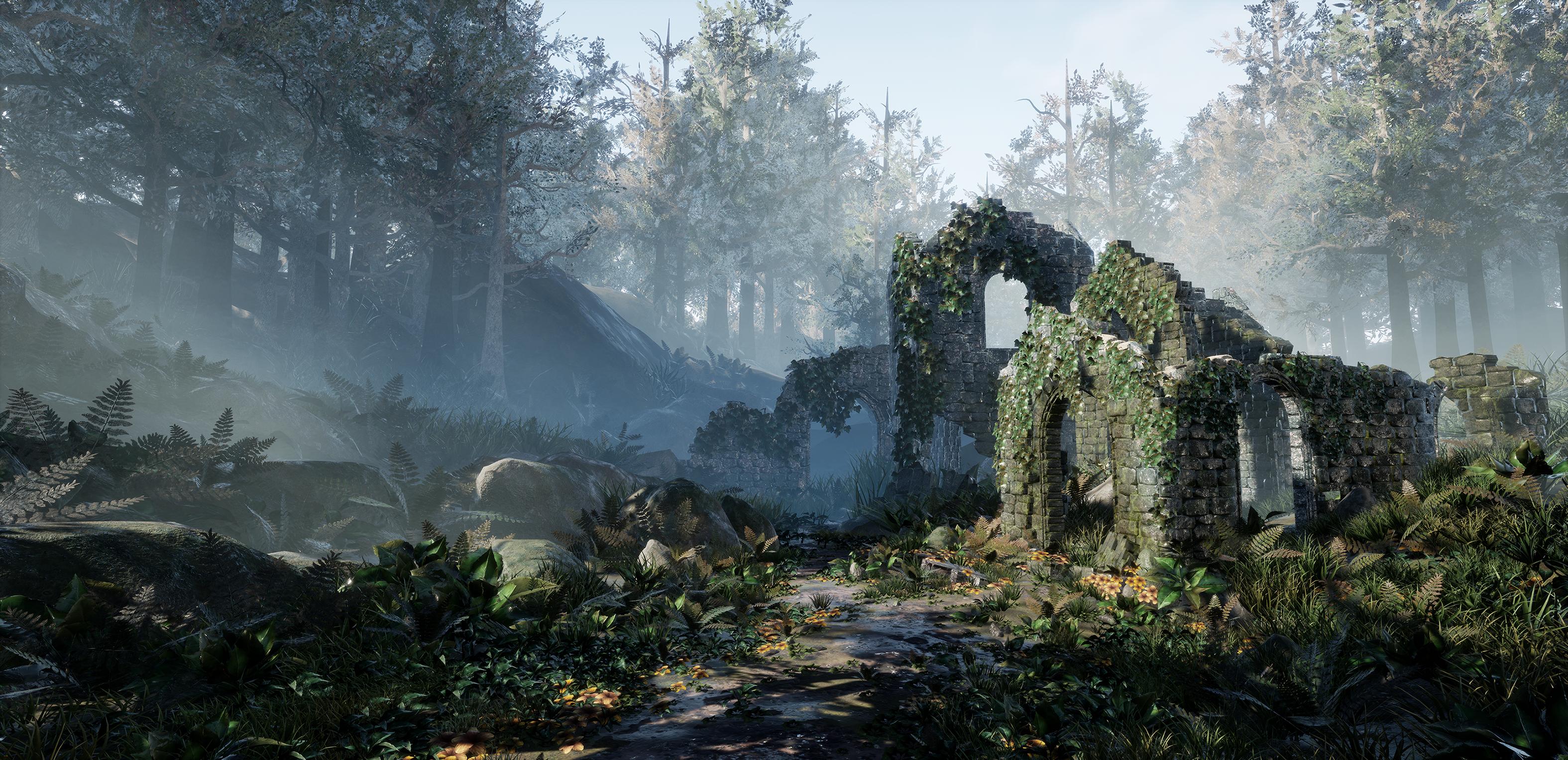 forest ruins  u2013 kassondra krahn